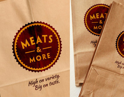 MEATS & MORE BRAND IDENTITY & EXPERIENCE DESIGN