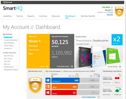 Smart Rewards Loyalty Program — Microsoft Australia