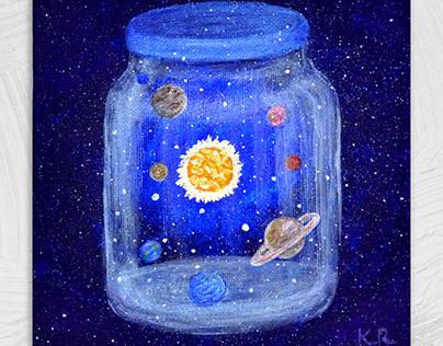 Space jar