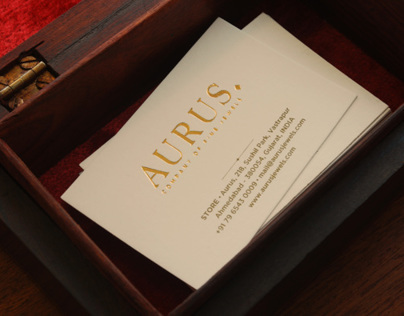 Aurus Jewels Branding