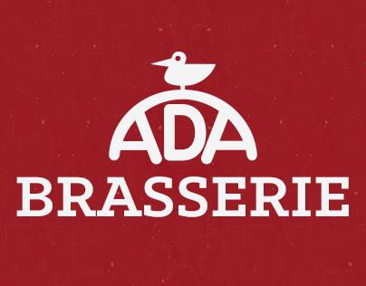 Ada Brasserie Menu