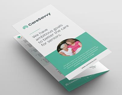 Trifold Brochure for CareSavvy