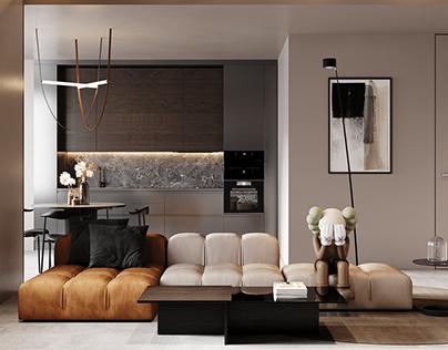 Apartment in kiev - CG