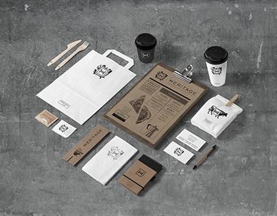 Heritage / Italian cafe branding