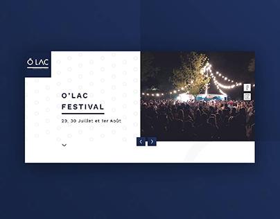 O'Lac musicfestival website