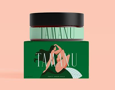 Tamanu — Branding, packaging
