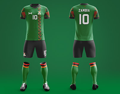 Zambia national team jersey concept 2