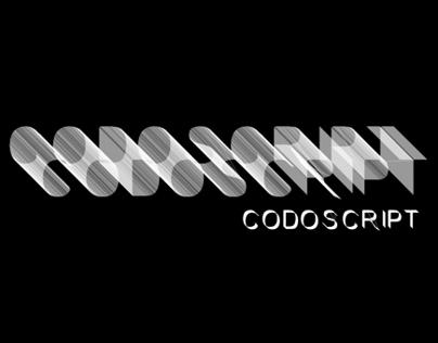 Generative Font Codoscript