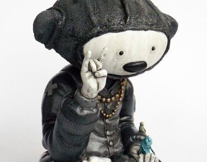 """ Hell – Lotus – Teddy"" custom Mintyfresh Exclusive"