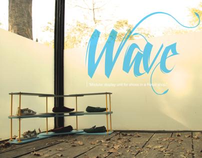 Wave (Modular Shoe Display Unit)