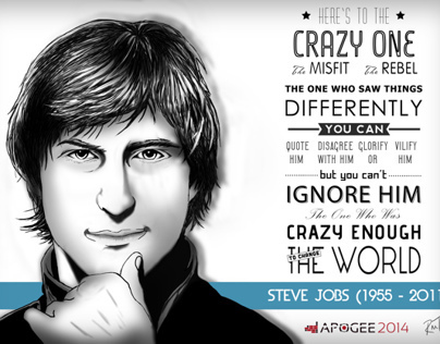 Steve Jobs - A Digital Portrait