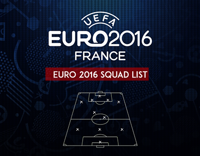 EURO 2016 SQUAD LIST
