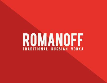 ROMANOFF // TRADITIONAL RUSSIAN VODKA