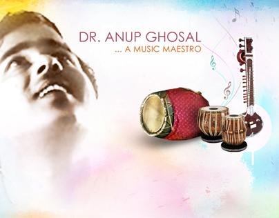 Anup Ghosal Website design