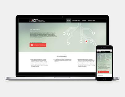 Strona Internetowa QCST