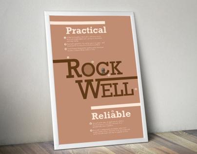 Celebrating Type: Rockwell
