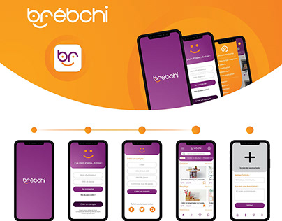 Brèbchi - UI/UX Design Mobile application & Website