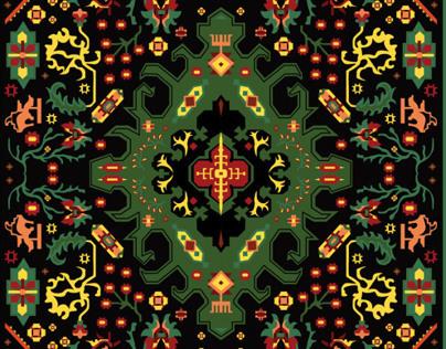 Persian Rug Pattern