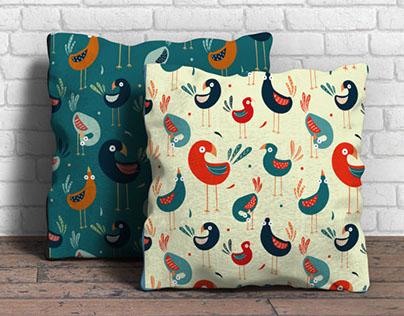 Pattern Design - Birds