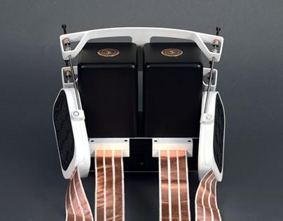 BLACK CURRANT ELECTROSTATIC HEADSPEAKER