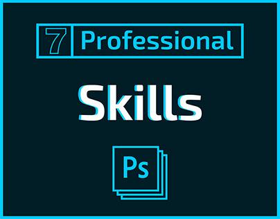7 professional skills in photoshop