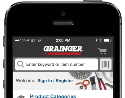 Grainger iPhone App 2.0
