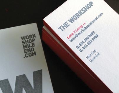 The Workshop – Identité et carte