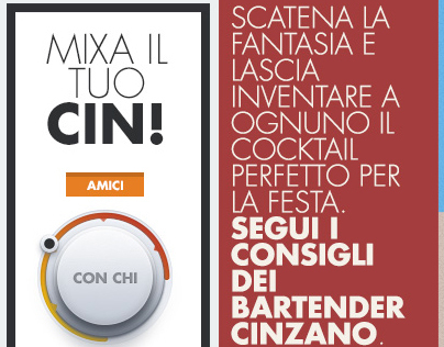 cinzano.it - Restyle proposal