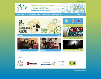 Radio Ara Luxembourg Website