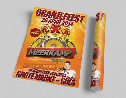 Poster Meerkamp Goes