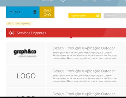 """Guia do Lar"" - Web portal"