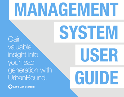 UrbanBound User Guides