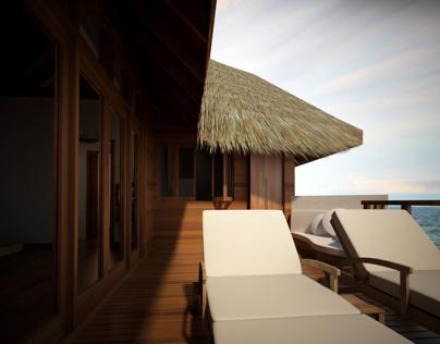 Maafushivaru Resort Renders