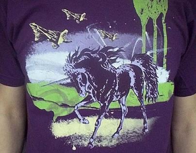 Unicorn & Jets Tshirt