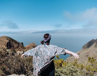 Hiking trip in the Anaga mountainson Tenerife