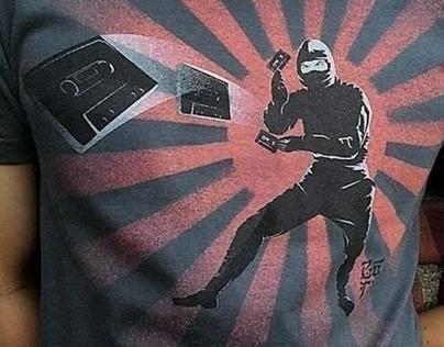Mix Tape Ninja Tshirt