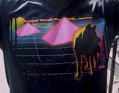 Neon Wolf Tshirt