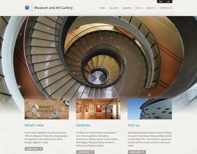 Bank Negara Museum and Art Gallery Official Website