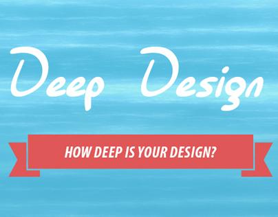 Deep Design (Infographic)