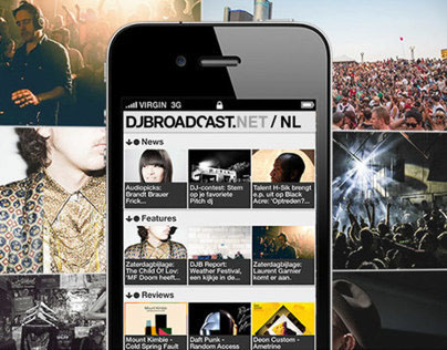 DJBroadcast iphone app