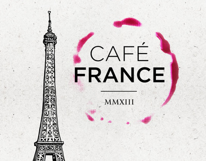 Café France [Illustration]