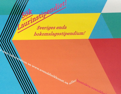 Poster for book cover scholarship