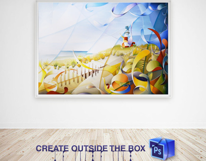 Photoshop : create outside the box  Collaboration n°4