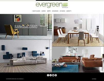 Evergreen Arredi | Responsive Web Design