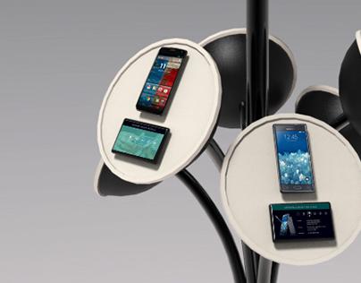 Retail fixture - Mobile phones