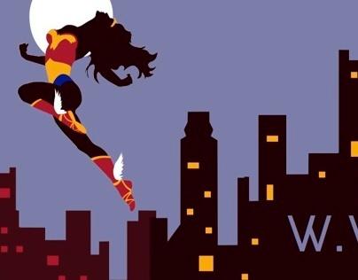 Wonder Woman Postcards