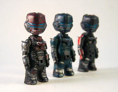 Pocket-sized Isaac Clarke (DS2 version)