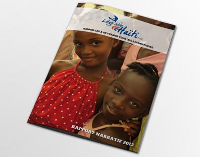 Liège Aide Haïti // Brochure - Site Web