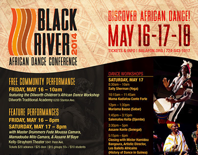 Balafon/Black River African Dance Conference