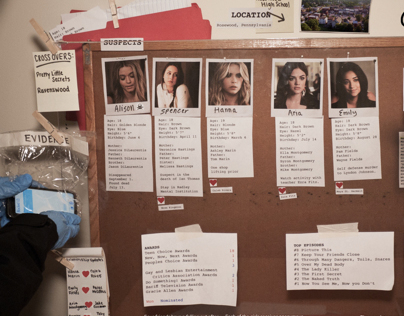 Pretty Little Liars Infographic